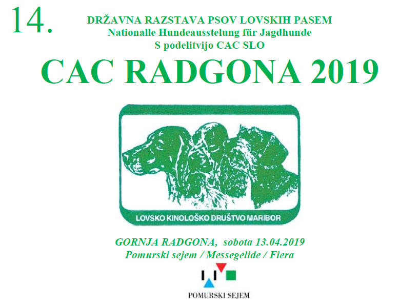 CAC Radgona 2019