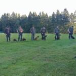 Zbor vodnikov ob začetku preizkušnje